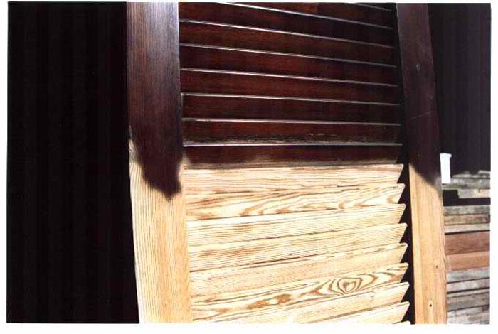 Lavori linea84 - Pulire porte legno ...